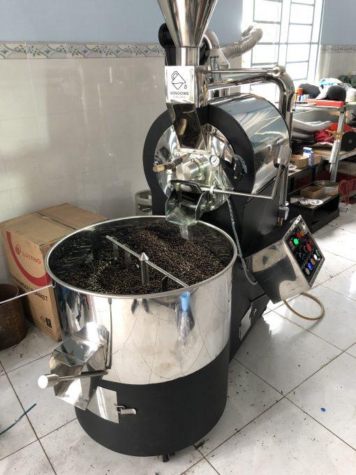 may rang cafe cong nghiep