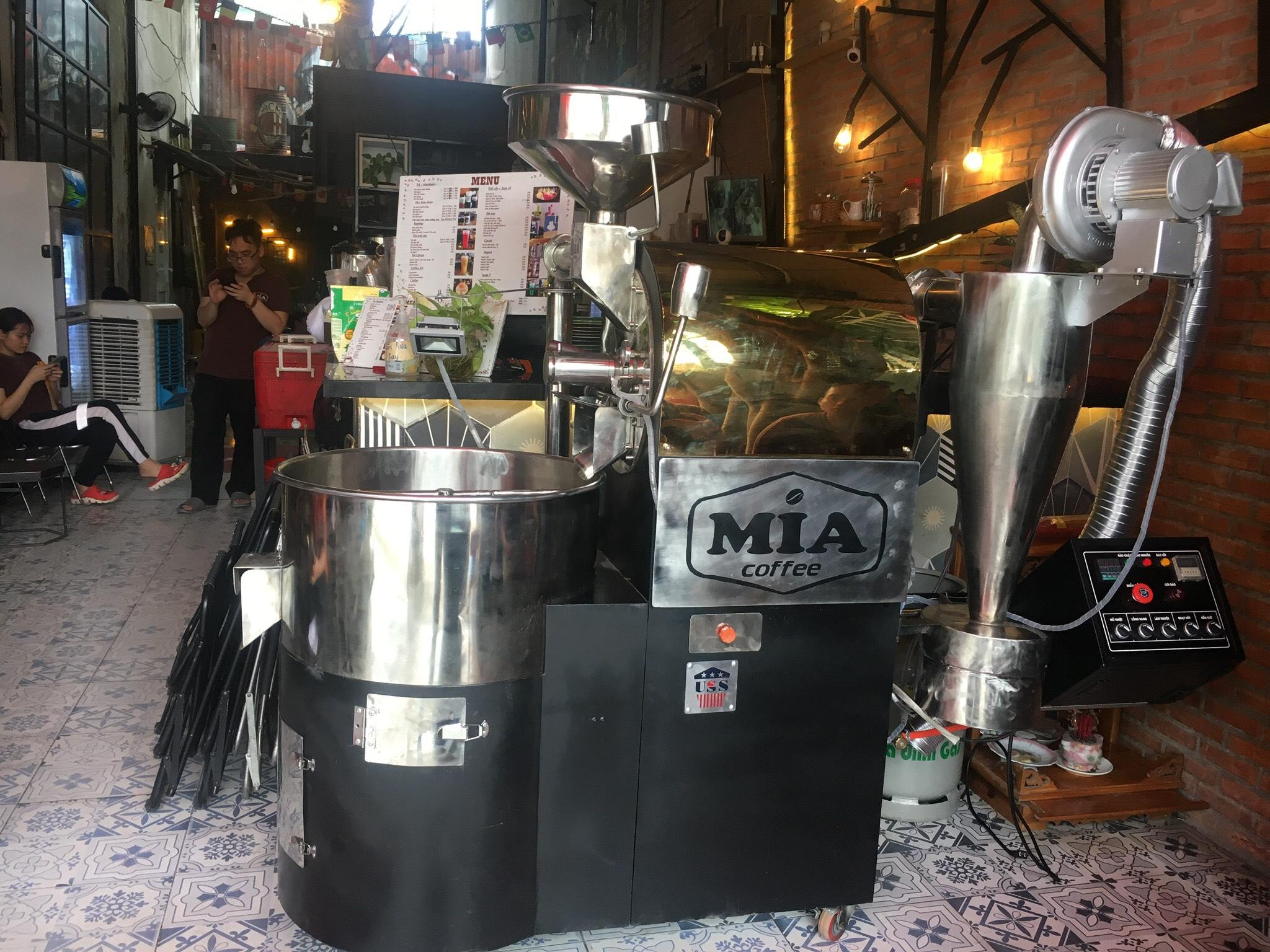 chọn máy rang cafe cho quán