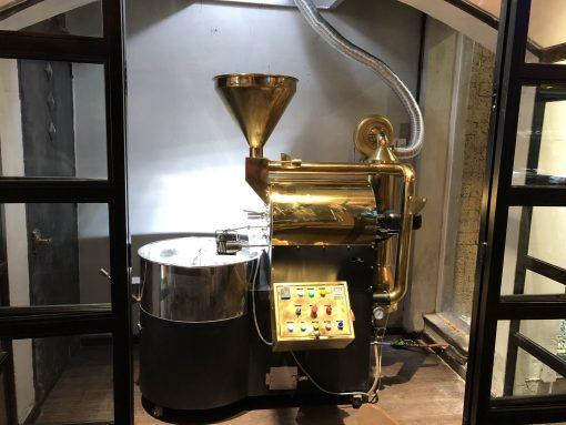 Máy rang cà phê 20kg - uy tín chất lượng