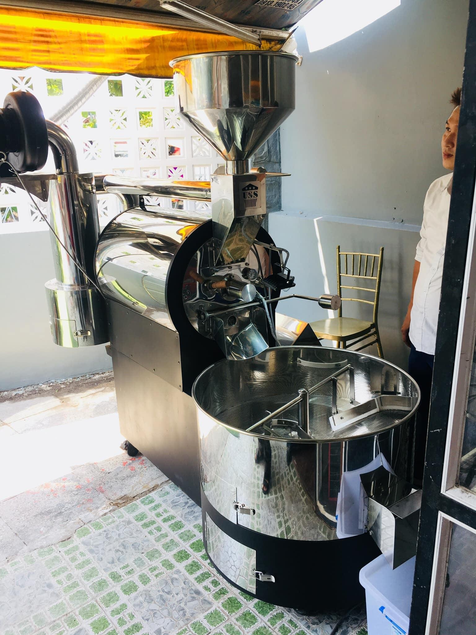 may rang cafe 10kg gia re