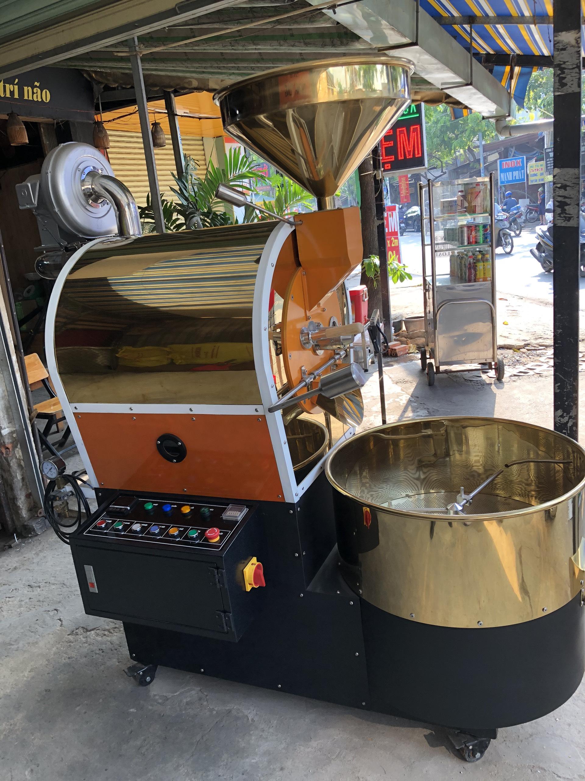 Máy rang cà phê 40kg