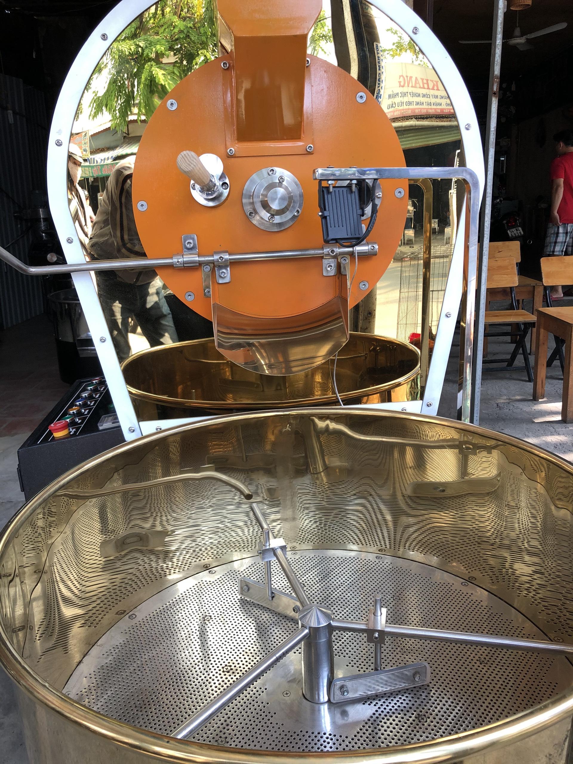 Máy rang cà phê 60kg